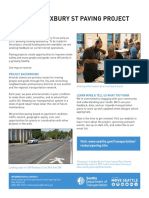 Roxbury Paving factsheet from SDOT