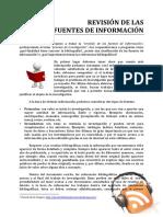 Fuentes de Informacion