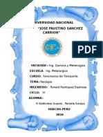 Universidad Naciona1 Reologia