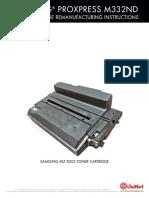 Samsung ProXpress M3320ND Reman ENG