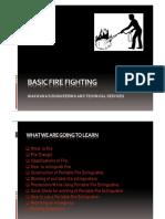 Basic Fire Fighting Training