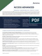 AcronisAccessAdvanced Datasheet Es-ES