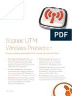 Sophos Wireless Security