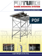 Frame Shoring System-Catalogue