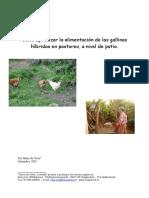 Como Optimizar La Alimentacion en El Patio Harm de Vries