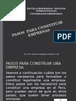 Secion 01 Pasos Para Constituir Empresas