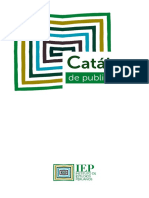 Catalogo Publicaciones Iep Nov 2016 Web