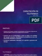 Capacitación en Teletrabajo