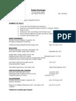 emilie renninger  resume