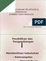 Perencanaan Pelatihan & Pengembangan Sumber Daya Manusia 2012