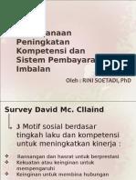 Perencanaan Peningkatan Kompetensi Dan Sistem Pembayaran Imbalan 15-10-12