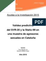 Validez Predictiva SVR-20 STATIC-99_castellano