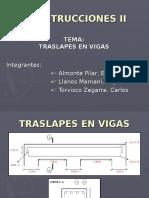 TRASLAPES-VIGAS