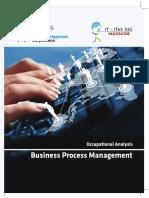 Nasscom Occupation Analysis Business Process Management