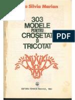 303 Modele pentru crosetat şi tricotat
