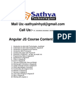 Angular JS training in hyderabad