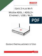 ALICE GATE 2 PLUS WI-FI GUIDA D'INSTALLAZIONE E D'USO