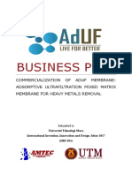 AdUF Business Plan Updated