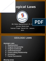 Geological Laws Part 3b