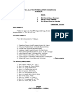 CERC Order 2005 Metering