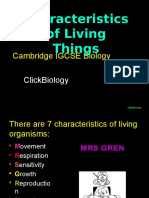 Characteristics Ppt