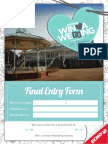 Final Entry Form
