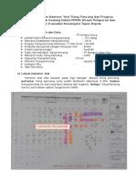 Report kegiatan hammer test tiang pancang dan Progess lapangan Proyek Gedung Diklat PPATK.docx