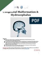 8-Congenital Malformation & Hydrocephalus