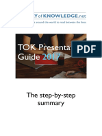 TOK Presentation StepByStepSummary