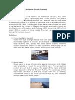 Coastal Problem in Malaysia