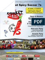 Soccer 7s - 2010 Spicy Soccer 7s Poster