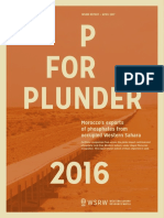 P for Plunder - 2016