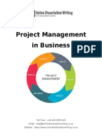 Project Management in Business