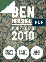 Ben Marshall's Portfolio