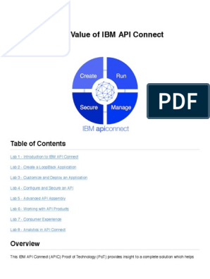 Student Lab Guide - IBM API Connect Proof of Technology v5