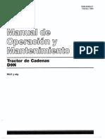 Manual operación y mantenimiento Caterpillar D9N