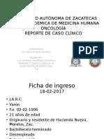 Caso Clínico Oncología