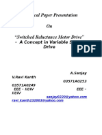 Switched Reluctance Motor Drive
