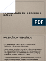 Prehistoria Península Ibérica Leti