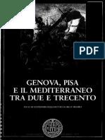 Genova Pisa Mediterraneo Tra Due e Trecento