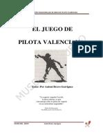 "Antoni Bravo Garrigues ""Joc de Pilota Valenciana"""