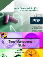 Academic Survival at JSU Note Taking Skills