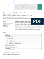 2009.Decontamination and Disinfection of Water by Solar Photocatalysis Recent Overview and Trends_S. Malato