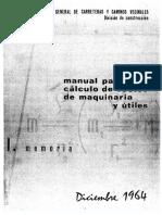 Manual Para El Calculo de Costes de Maquinaria y Utiles - Mop