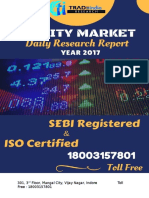Equity Market Daily Research Report for 25th April by TradeIndia Research