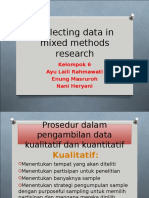 Collecting Data in Mixed Methods Research2