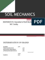 Soil Mechanics 2017