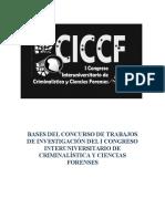 Bases Del Concurso de Investigacion Del i Ciccf