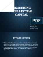 Measuring Intellectual Capital Angad Gaurav Navrose Sanyam
