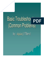 Basic Troubleshooting